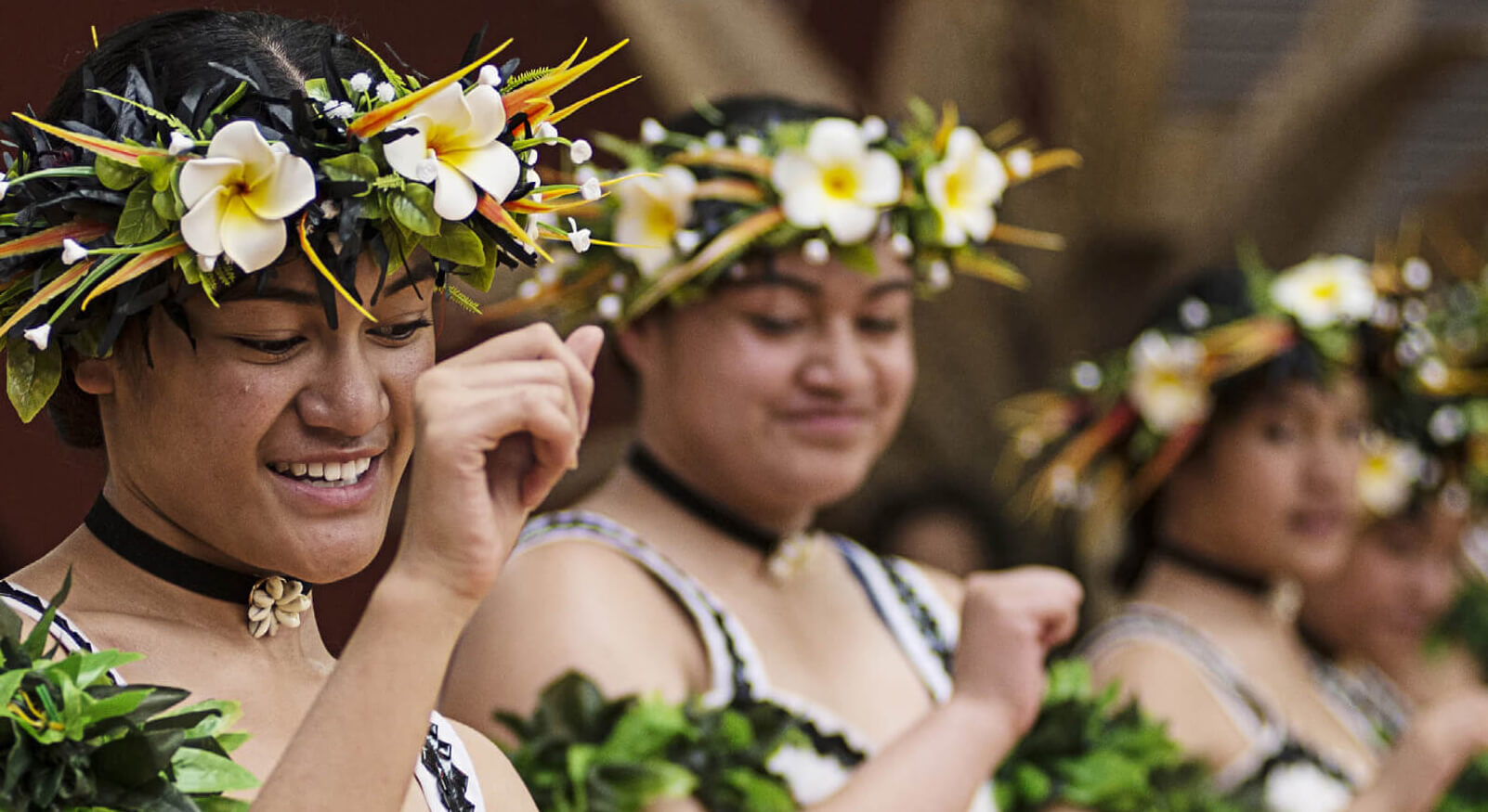 Nukulaelae Tuvalu Group performs at Pacific Arts Fono 2017. Photography by Raymond Sagapolutele.